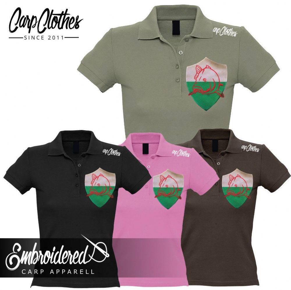 022 LADIES EMBROIDERED POLO